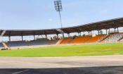 Infrastructures :  la pelouse du Stade de Yamoussoukro sort déjà de terre