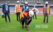 Infrastructures : Le Stade de Yamoussoukro en phase de réception