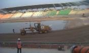 Infrastructures : Le stade de Yamoussoukro prend forme