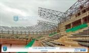 Infrastructures : Les images de l'état d'avancement des travaux du stade de Korhogo