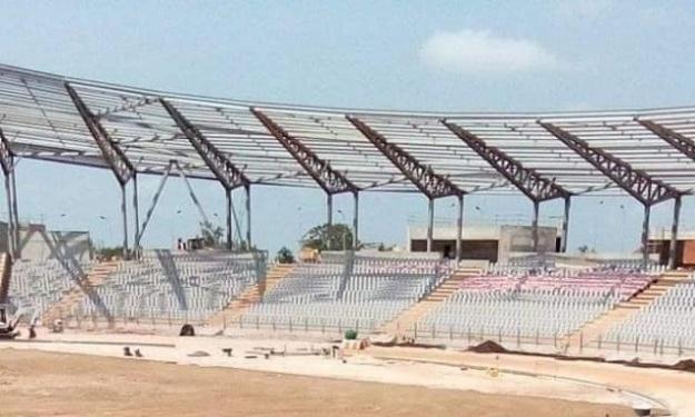 Infrastructures : Les travaux du stade de Yamoussoukro avancent à grands pas