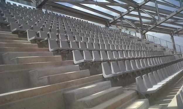 Infrastructures : Pose des toitures et des sièges du stade de Yamoussoukro (images)