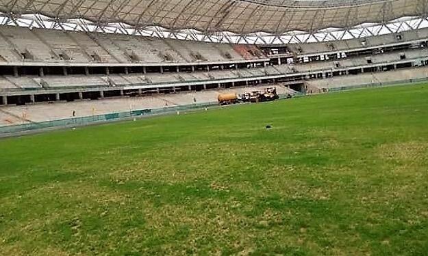 Infrastructures Sportives : l'herbe est de plus en plus verte à Ebimpé (images)