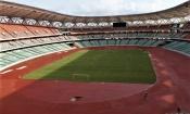 Infrastructures : Visite des autorités sportives au stade Olympique d'Ebimpé avant son inauguration