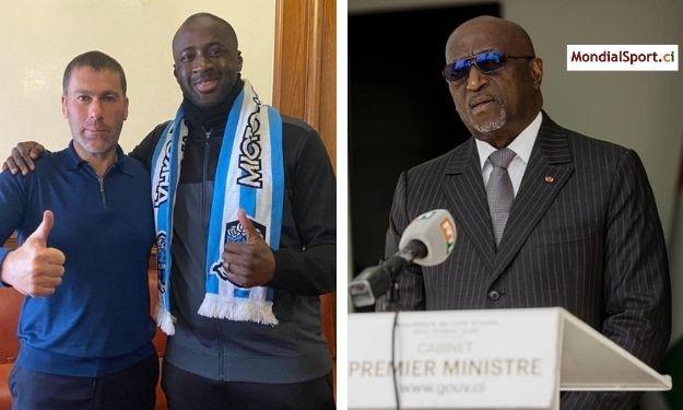 Jacques Anouma adresse un message fort à Yaya Touré après sa nomination au poste d'entraineur à l'Olimpik Donetsk