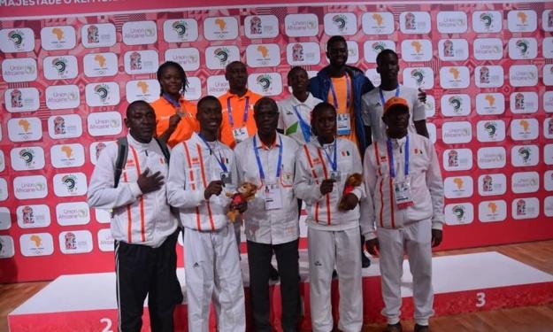 Jeux Africains Rabat 2019 : Les Taekwondo-Ins Ivoiriens remportent 4 nouvelles médailles