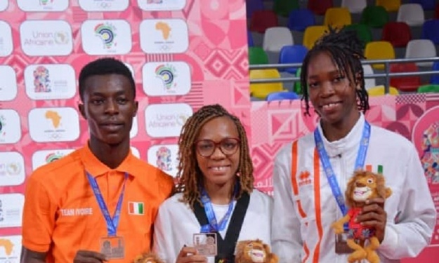 Jeux Africains Rabat 2019 : Les Taekwondo-Ins Ivoiriens reviennent avec 10 médailles