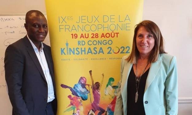 Jeux de la Francophonie 2022 : Sory Diabaté reçu par la Directrice du comité international