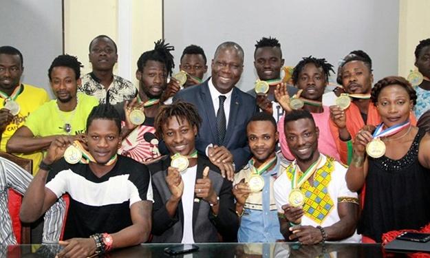 Jeux de la Francophonie : Les Athlètes Ivoiriens récompensés de leurs efforts