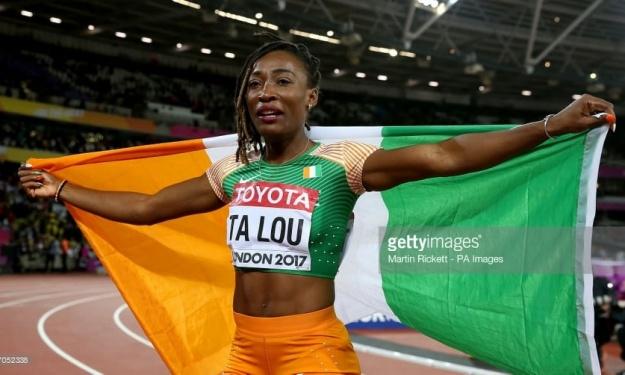 JO de Tokyo : Ta Lou Marie-Josée porte drapeau de la Côte d'Ivoire