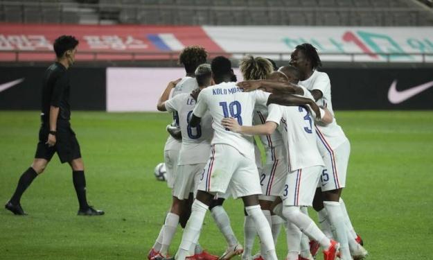 JO : La France renverse la Corée du Sud avec un but de Kolo Muani