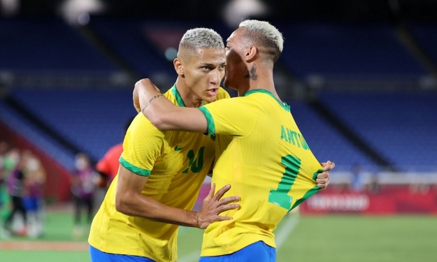 JO : Le Brésil se défait de l'Allemagne et répond à la Côte d'Ivoire avant leur choc
