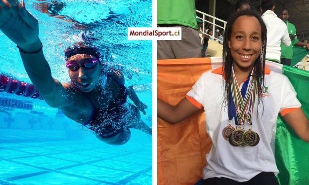 JO (Natation) : Tokyo ne médaillera pas l'ivoirienne Talita Marie Te Flan