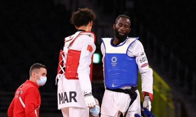 JO (Taekwondo) : Cissé Cheick Sallah chute d'entrée face à une vieille connaissance marocaine