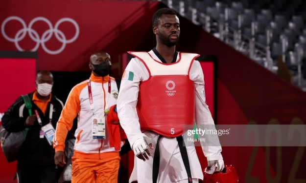 JO (Taekwondo) : Gbané Seydou rentrera bredouille de Tokyo