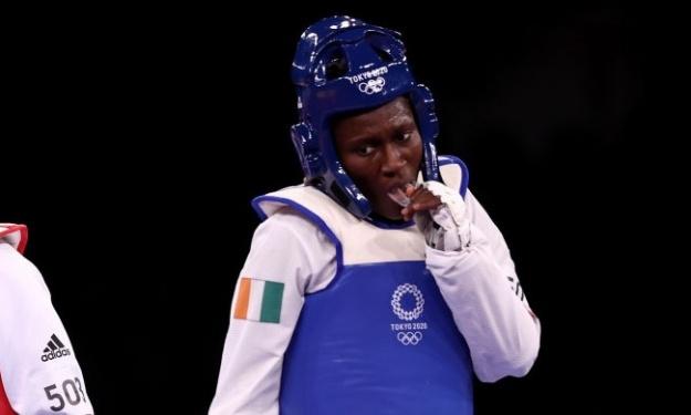 JO (Taekwondo) : Ni l'Or ni l'Argent pour Gbagbi Ruth !