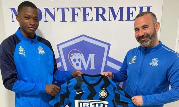 Kamaté Issiaka quitte le FC Montfermeil pour l'Inter Milan