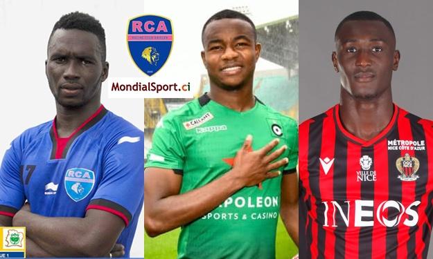 Koné Zoumana, Yves Dabila et Cissé Ibrahim adressent leurs félicitations au Racing Club d'Abidjan