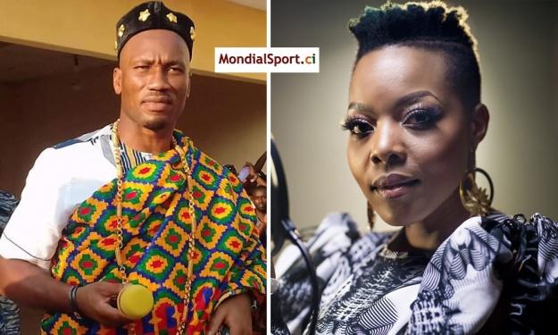 L'artiste sud-africaine Nomcebo (Jerusalema) déclare sa flamme à Drogba, la réponse de l'ancien footballeur