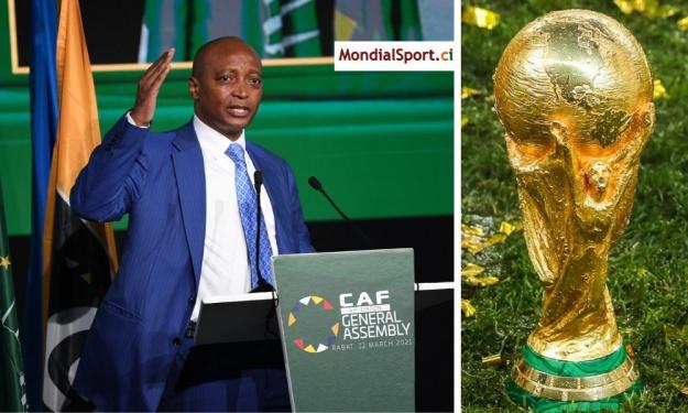 La CAF donne sa position concernant l'éventuelle réforme de la Coupe du Monde