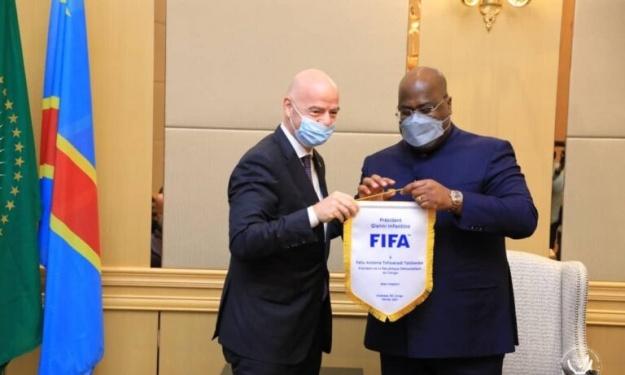 La création d'un championnat scolaire au cœur d'un protocole d'accord entre la FIFA et la RD Congo