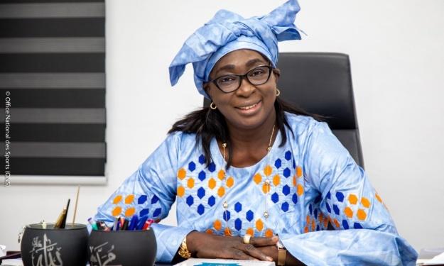 La Directrice de l'ONS se prononce sur la pelouse du stade Alassane Ouattara d'Ebimpé et fait des révélations