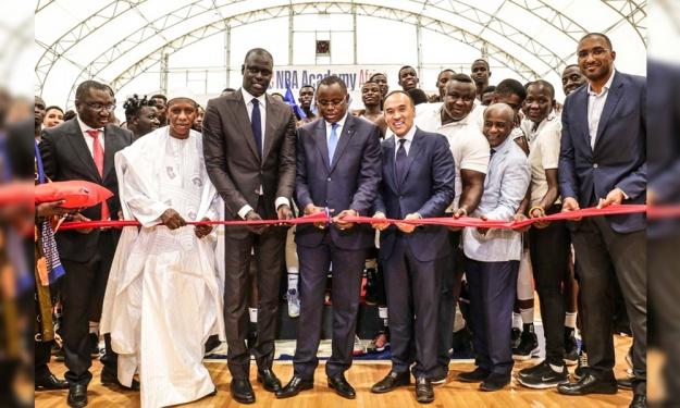 La première Académie Africaine de NBA a été inaugurée à Saly (Sénégal)