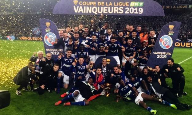 Lamine Koné et Kévin Zohi remportent la Coupe de la Ligue 2019 avec Strasbourg