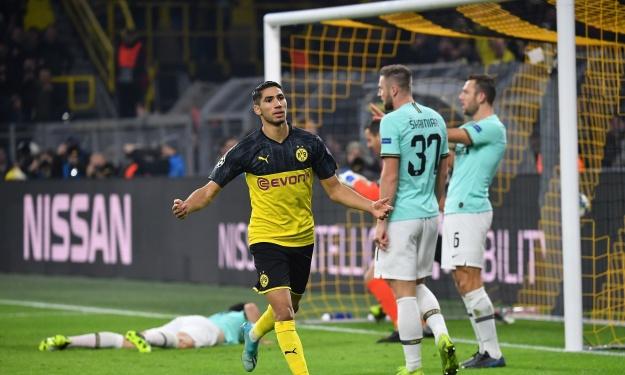 LDC (4è J) : Hakimi et Dortmund renversent l'Inter, pluie de buts entre Chelsea et l'Ajax (résultats)