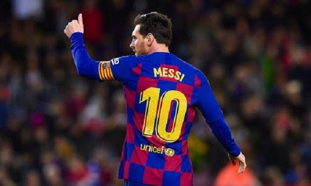 Le Barça veut prolonger Messi