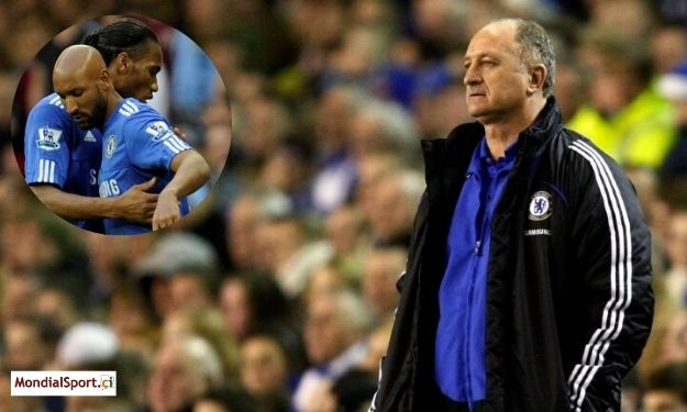 Le clash Drogba-Anelka a eu raison de Scolari à Chelsea