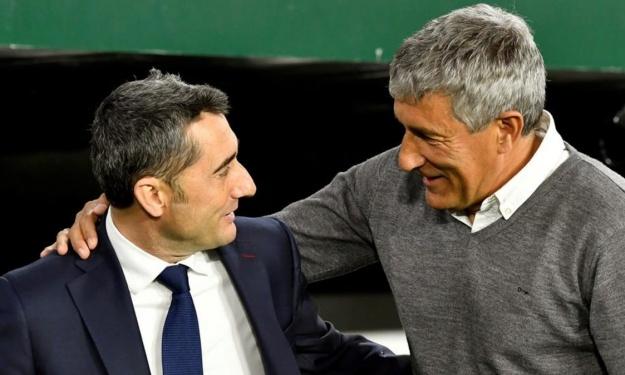 Le FC Barcelone officialise le départ de Valverde et l'arrivée de Quique