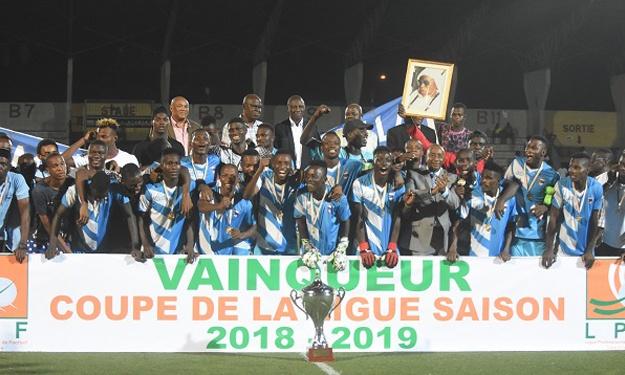 Le LYS de Sassandra remporte la 6è édition de la Coupe de la Ligue