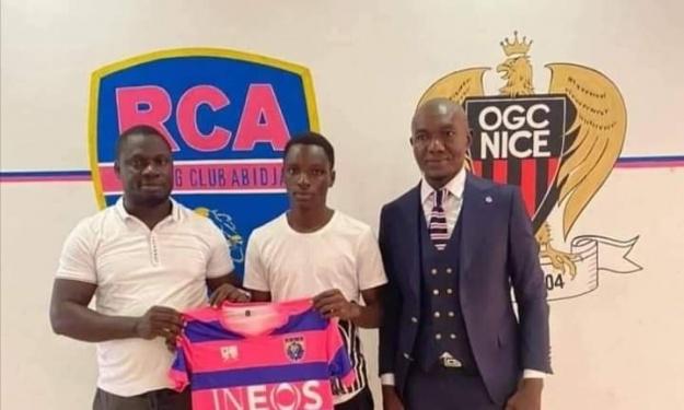 Le Racing Club d'Abidjan tient le remplaçant de N'Guessan Jean