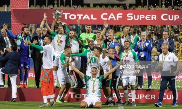 Le Raja remporte la Supercoupe CAF 2018 devant l'Espérance de Tunis
