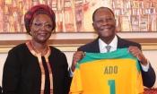 Les activités du CONOR-FIF, les Éléphants, … les grands axes de la rencontre entre SEM Alassane Ouattara et Dao Gabala
