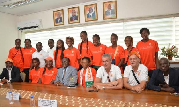 Les Eléphantes vont percevoir une prime du Ministère des Sports pour leur parcours à l'Afrobasket