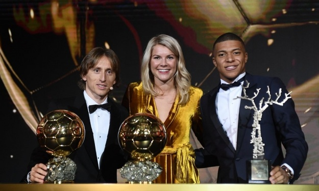 Les lauréats de la cérémonie du Ballon d'Or France Football 2018