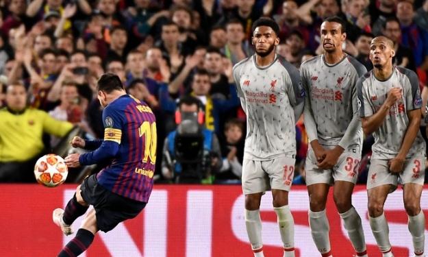 Lionel Messi auteur du plus beau but de la Ligue des Champions