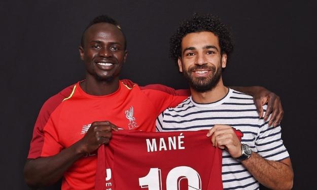 Liverpool : La réconciliation hilarante de Mohamed Salah et Sadio Mané