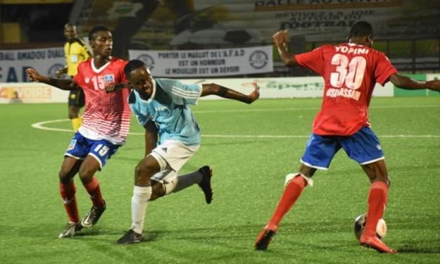 LONACI Ligue 1 (10è J) : Bassam met un terme à la série de victoires de l'AFAD