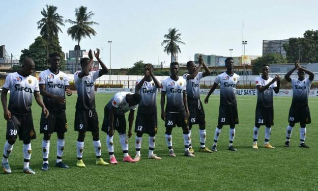 LONACI Ligue 1 (6è J) : L'ASEC boucle la phase aller sur une bonne note