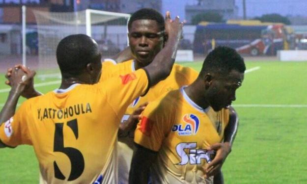 LONACI Ligue 1 (3è J) : L'ASEC mate la SOA et s'empare de la tête du groupe