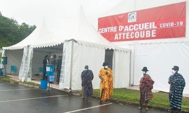 Lutte contre la COVID-19 : Le centre de dépistage situé au sein de l'hôpital de Drogba ouvre ses portes