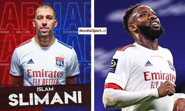 Lyon : Slimani arrive, Dembélé s'en va