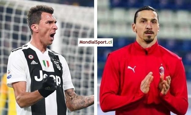 Mandzukic rebondit au Milan AC, Zlatan Ibrahimovic heureux de son arrivée