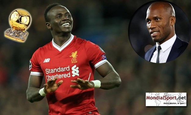 Meilleurs performances Africaines au Ballon d'Or : Mané rejoint Drogba