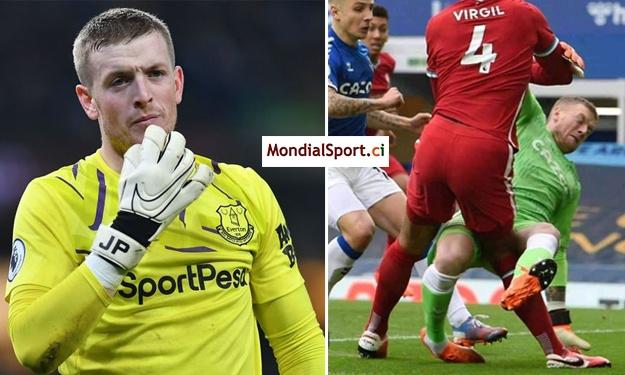 Après son tacle assassin sur Van Dijk, le portier d'Everton engage des gardes du corps