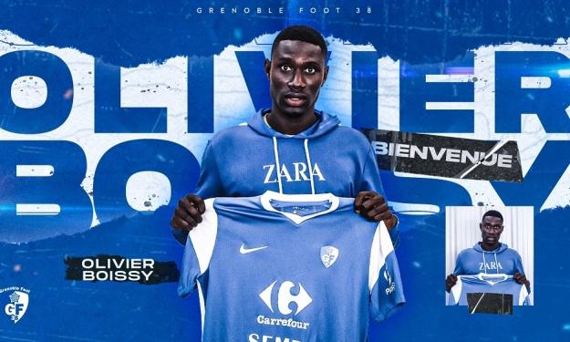 Mercato : Olivier Boissy rejoint le contingent Sénégalais de Grenoble Foot