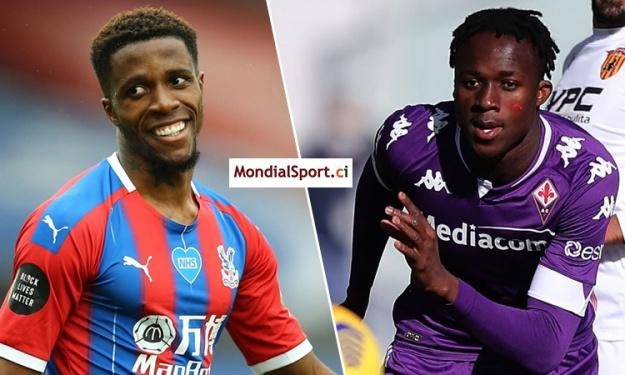 Mercato : Un duo ''Wilfried Zaha - Christian Kouamé'' dans les plans de Crystal Palace